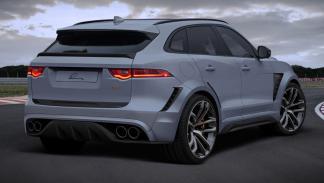Jaguar F-Pace by Lumma Design