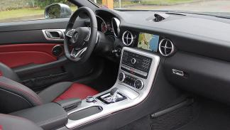 Mercedes SLC 2016 interior