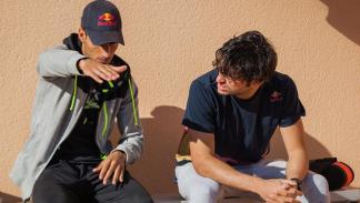 entrenamiento triatlón de Carlos Sainz y Mario Mola 3