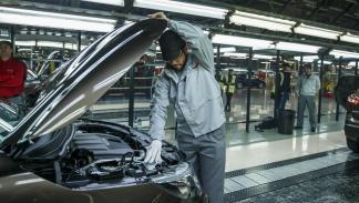 Visita a la fábrica de Nissan en Sunderland