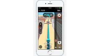 GO Mobile app iPhone TomTom 3