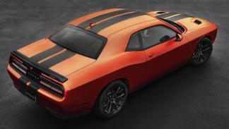 Dodge Challenger SRT Go Mango trasera