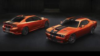 Dodge Challenger SRT y Charger SRT Go Mango