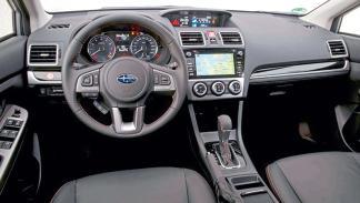 Prueba: Subaru Impreza FL 2016 interior