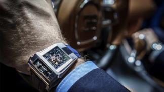 Bugatti Chiron y Parmigiani Fleurier 8