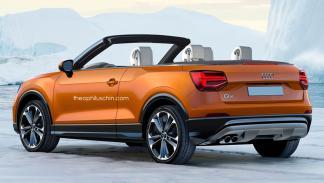 Audi Q2 descapotable trasera
