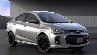 Chevrolet Sonic sedán 2017 frontal