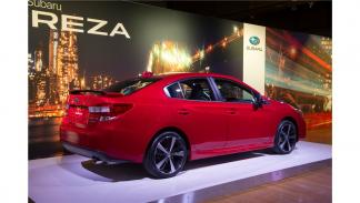 Subaru Impreza Sport Sedan 2017 tres cuartos trasero