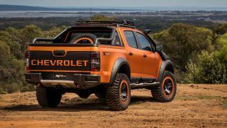 Chevrolet Colorado Xtreme trasera