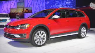 Volkswagen Golf Alltrack mercado de Estados Unidos delantera