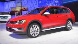 Volkswagen Golf Alltrack mercado de Estados Unidos morro