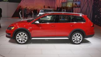 Volkswagen Golf Alltrack mercado de Estados Unidos lateral