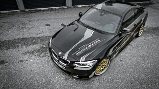BMW 220i 'tuneado' aérea