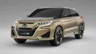 Honda UR-V tres cuartos delanteros