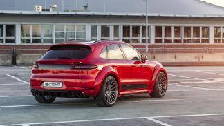 Porsche Macan by Prior Design tres cuartos traseros