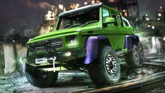 El Mercedes G63 6x6 AMG de Hulk