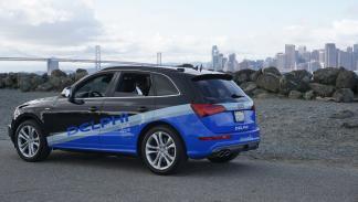 Audi SQ5 autónomo - trasera San Francisco