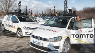 Flota de coches de TomTom