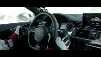 plantilla del Barça se sube al Audi RS7 que conduce solo 3