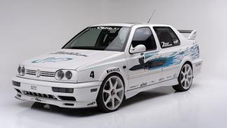 VW Jetta de A Todo Gas tres cuartos delantero