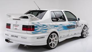 VW Jetta de A Todo Gas tres cuartos traseros