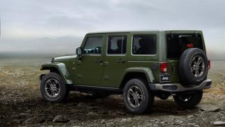 Jeep Wrangler 75º Aniversario trasera