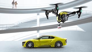 rinspeed etos dron
