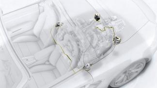 Sistemas de guiado de motor del Porsche 718 Boxster