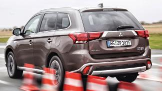 SUV híbridos: Mitsubishi Outlander PHEV