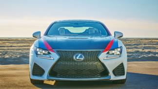 Lexus RC-F Los Angeles Clippers frontal