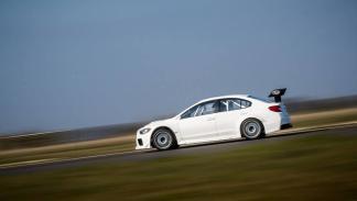 Subaru WRX STI Prodrive Isla de Man lateral