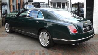 Subasta Bentley Mulsanne Reina Isabel II