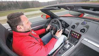 Prueba: Porsche 718 Boxster interior