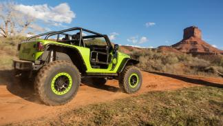 Prueba Jeep Trailcat trasera