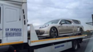 Porsche Panamera coche fúnebre