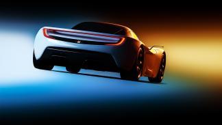 Recreación 3D del Acura NSX, en imágenes