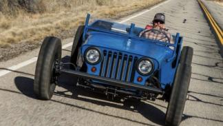 Jeep Willys hot rod 1