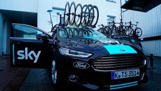 Ford Mondeo Sportbreak equipo ciclista Sky