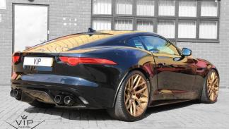 Jaguar F-Type preparado por VIP Design trasera