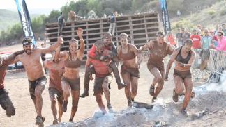 Spartan Race participó la paralímpica Eva Moral