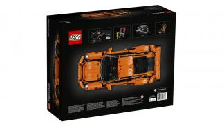 Porsche 911 GT3 RS by Lego Technic caja