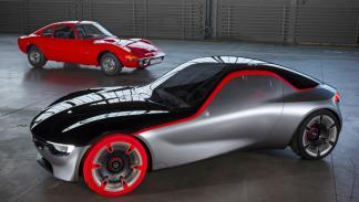 Opel GT Concept presente pasado