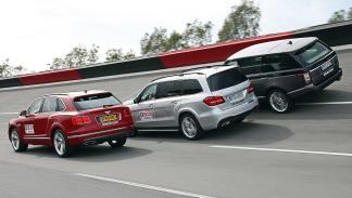 Comparativa:Bentley Bentayga vs Mercedes GLS vs Range Rover zagas