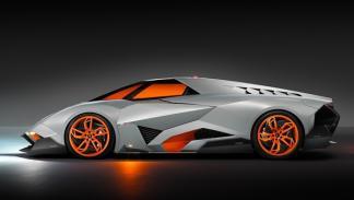 Lamborghini Egoista perfil
