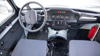 TREKOL UAZ-31514 interior