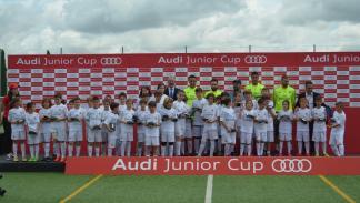 benzema real madrid audi junior cup jugadores valdebebas