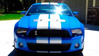Shelby GT500 Ford Mustang frontal