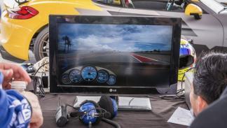 Porsche Cayman V-CS Aero kit por Vorsteiner pantalla