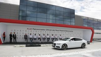 Audi entrega gama a plantilla de Baloncesto del Real Madrid