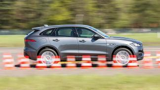 Jaguar F-Pace barrido